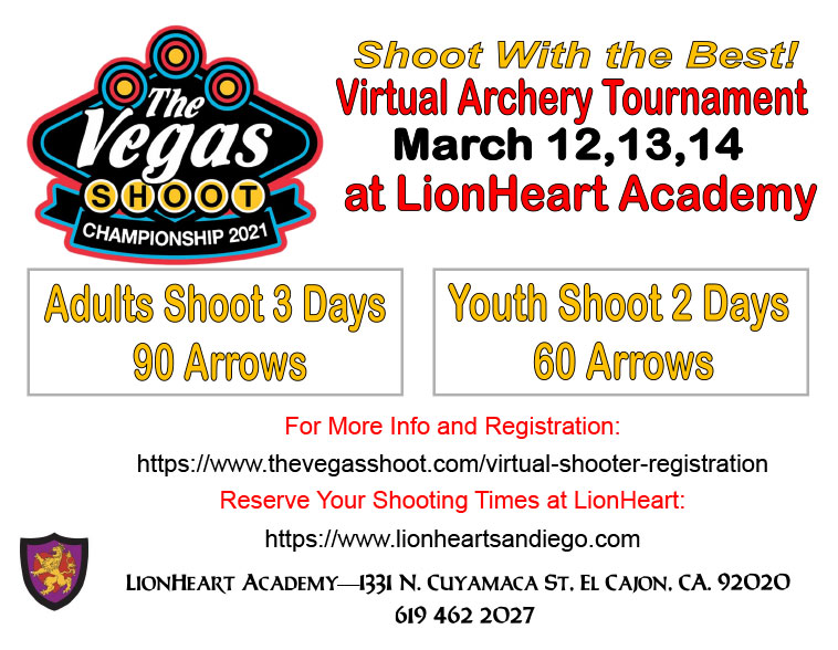 Archery Vegas Virtual Tournament